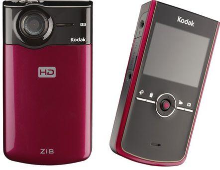 Kodak Zi8 Video Camera Hd Camcorder Kodak Camcorder