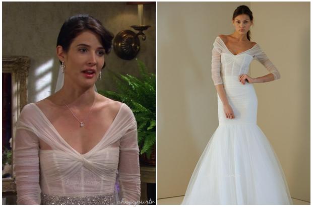 how i met your mother: season 8 episode 1 robin's wedding dress