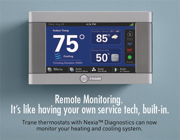 Nexia Remote Monitoring Trane Hvac System Duct Cleaning