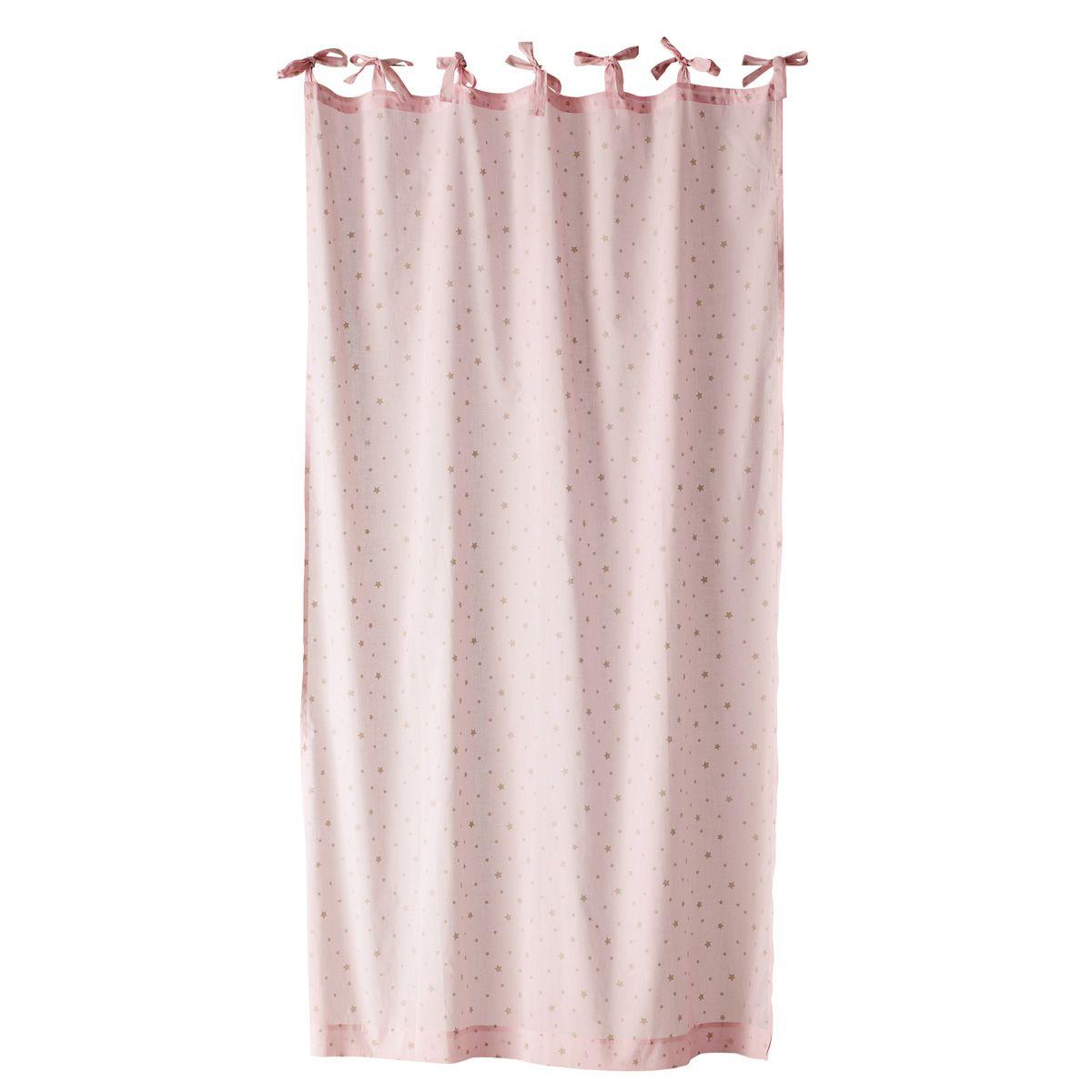 rideau rose etoile sur maisons du monde dcouvrez tous les meubles et objets de dcoration pour la chambre de vos enfants ou de bb sur maisons du monde - Rideau Chambre Bebe Etoile