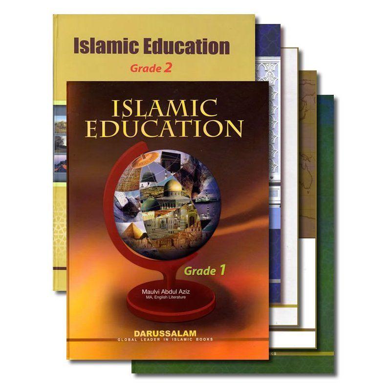 Islamic Studies Grades 1 12 Set Of 12 Books Islamic Books For