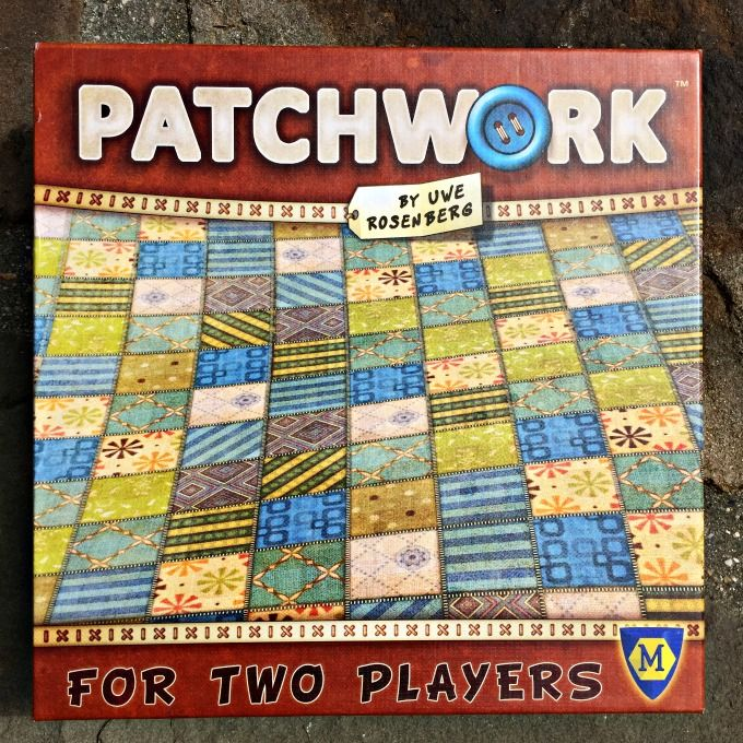 Patchwork My New Favorite 2Player Game Patchwork board