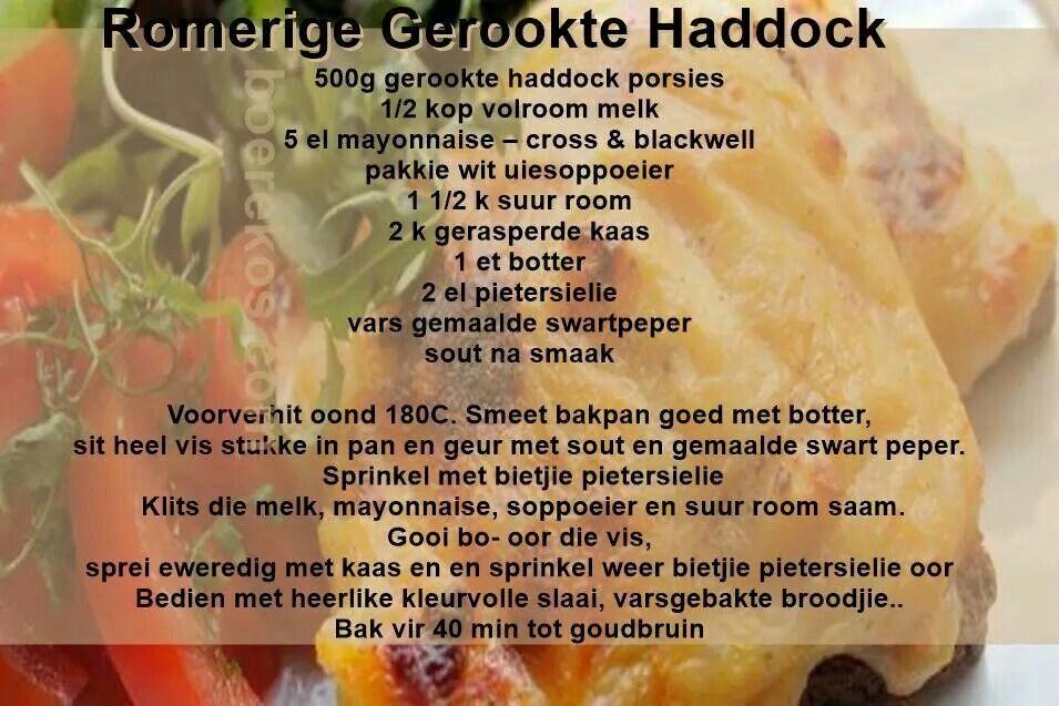 Romerige Gerookte Haddock