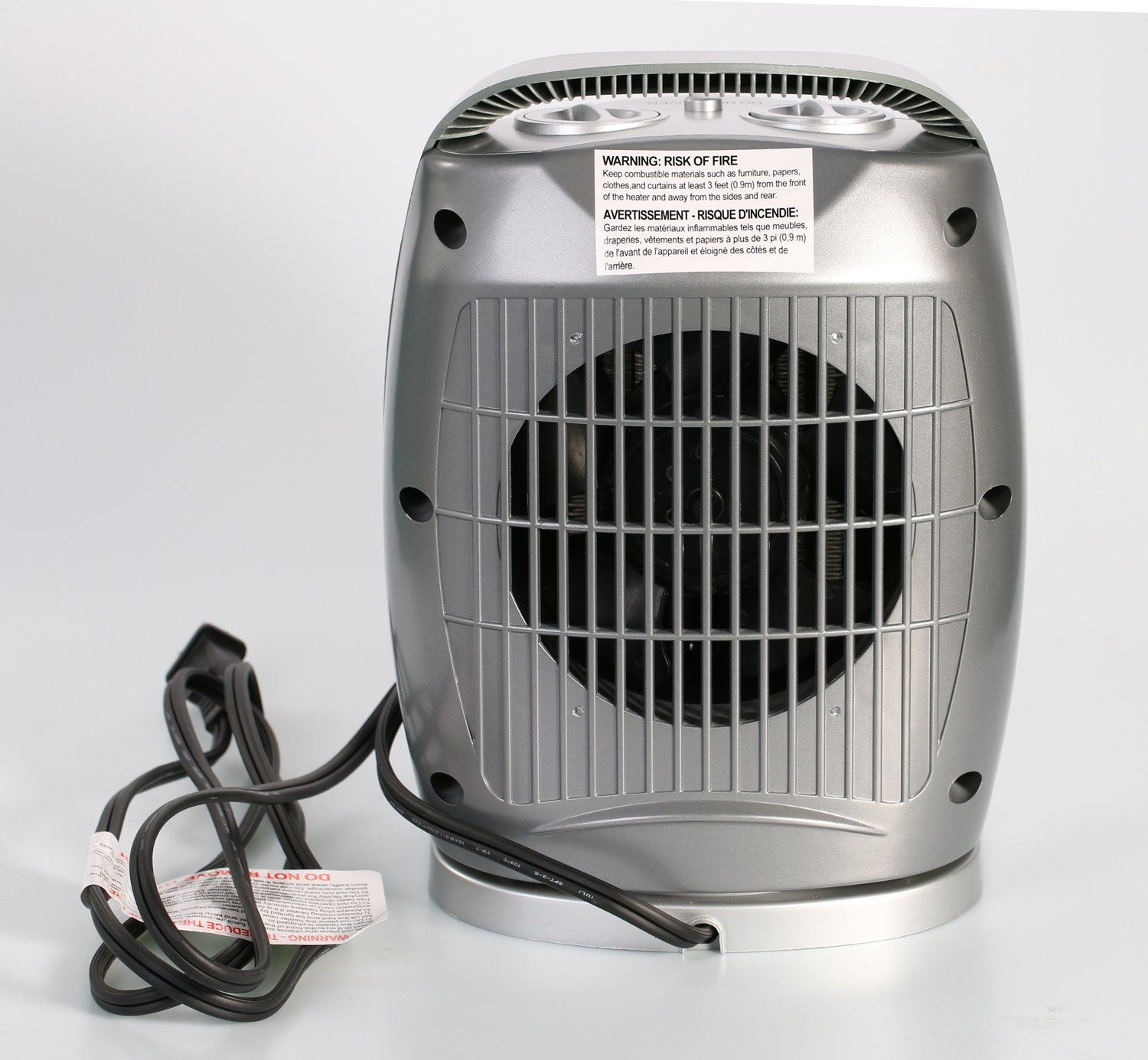Space Heater 750w 1500w Oscillating Quiet Ceramic Heater With