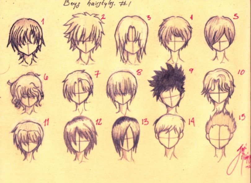 Pin By Azaria Neilson On Human Drawing References Anime Boy Hair Manga Hair Anime Hair