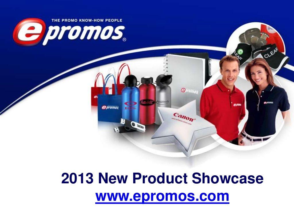 2013 New Product Showcase #epromos  #promotionalproducts #marketingideas