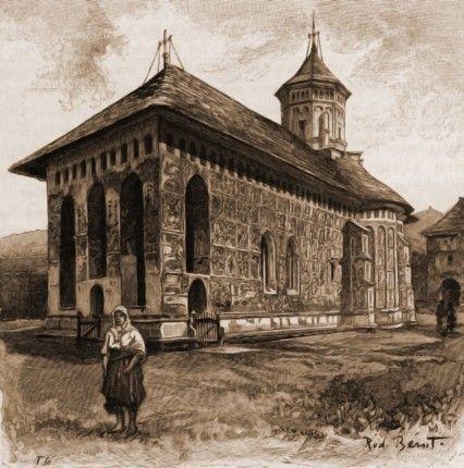 Moldoviţa, biserica mănăstirii