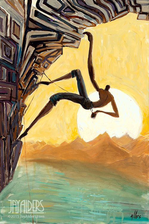 Stylized Figurative - Jay Alders - Surf Art,Figurative,Yoga and Nature Inspired…