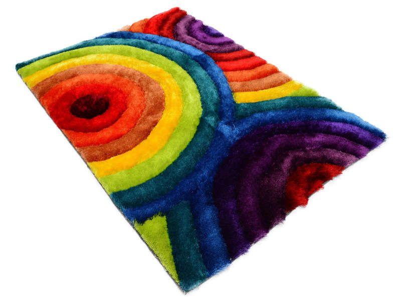 tapis 120x170 cm rainbow vente de