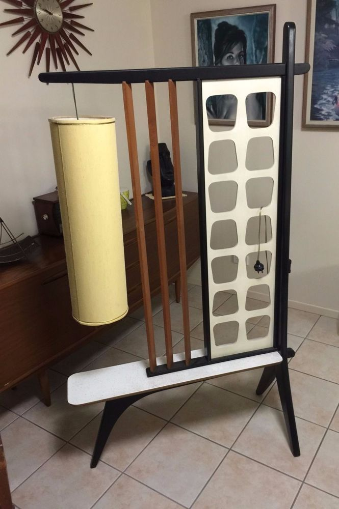 Captivating Retro Atomic 1950 S Vintage Room Divider Lamp Form Apollo Furniture Of NSW