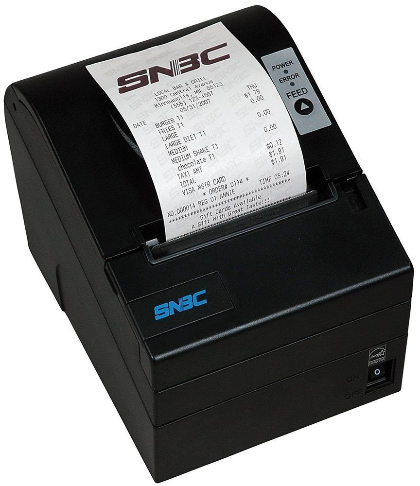 Snbc Btp R880nvp Ethernet And Usb Thermal Receipt Printer Free Shipping Snbc Mini Printer Printer Thermal Printer