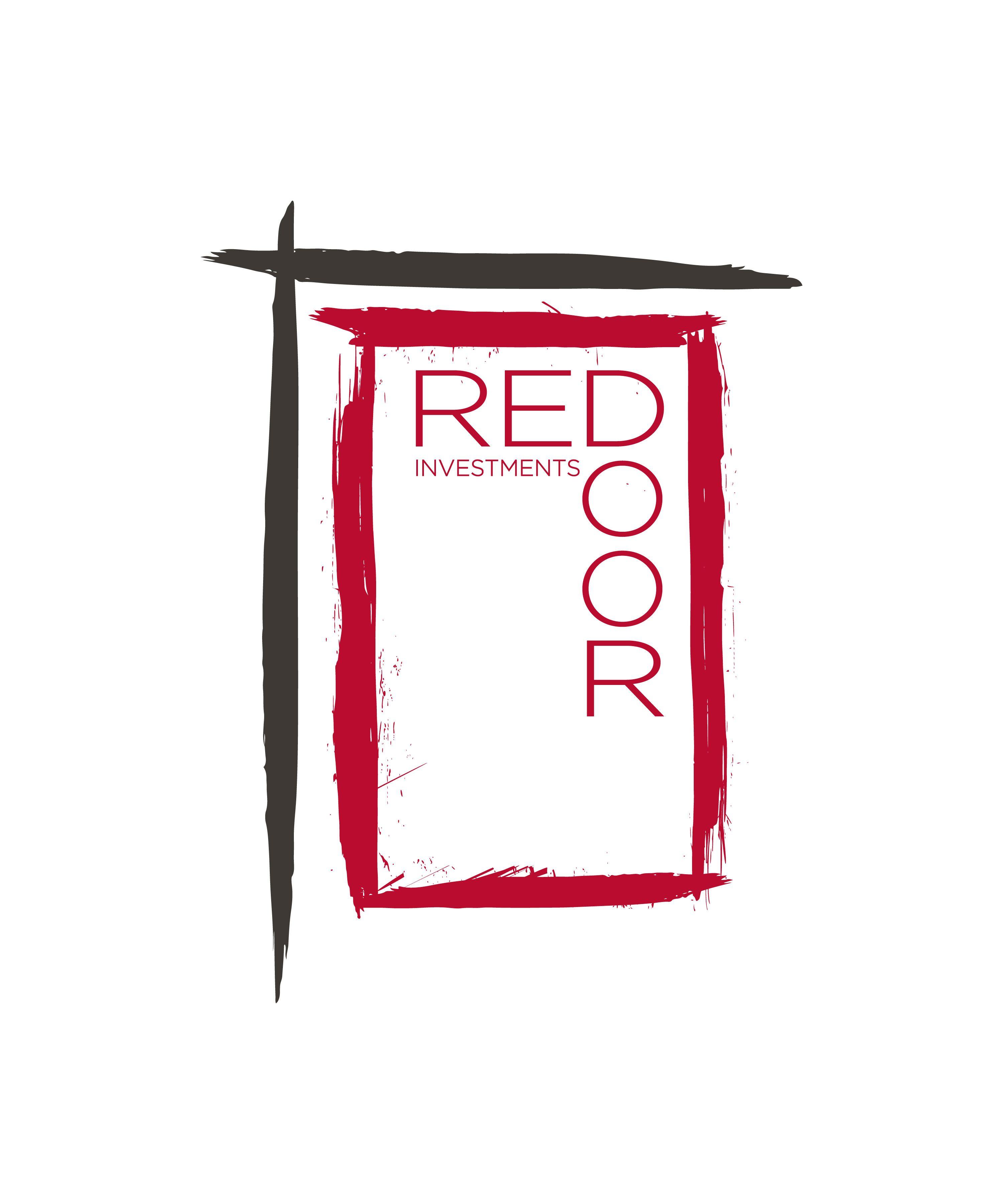 Red Door Investments U2022 Logo Design #byrdhaus #byrdhausmarketing #design  #byrdhausdesign #logodesign #reddoorinvestments #reddoor #realestate #realeu2026