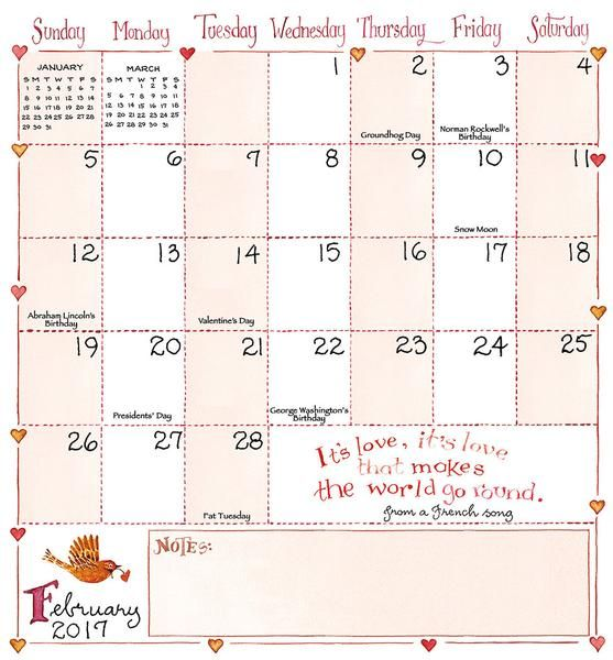2017 2018 Susan Branch 2 Yr Pocket Calendar Susanbranch