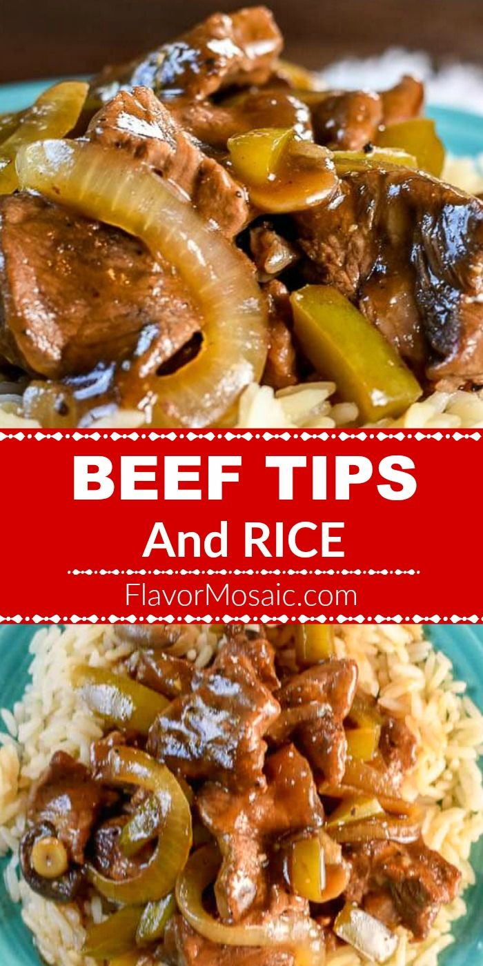 Photo of Beef Tips And Rice