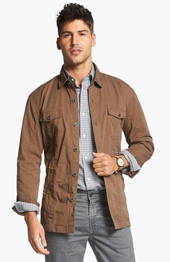 BOSS HUGO BOSS 'Lucio' Shirt Jacket   Shirt jacket ...