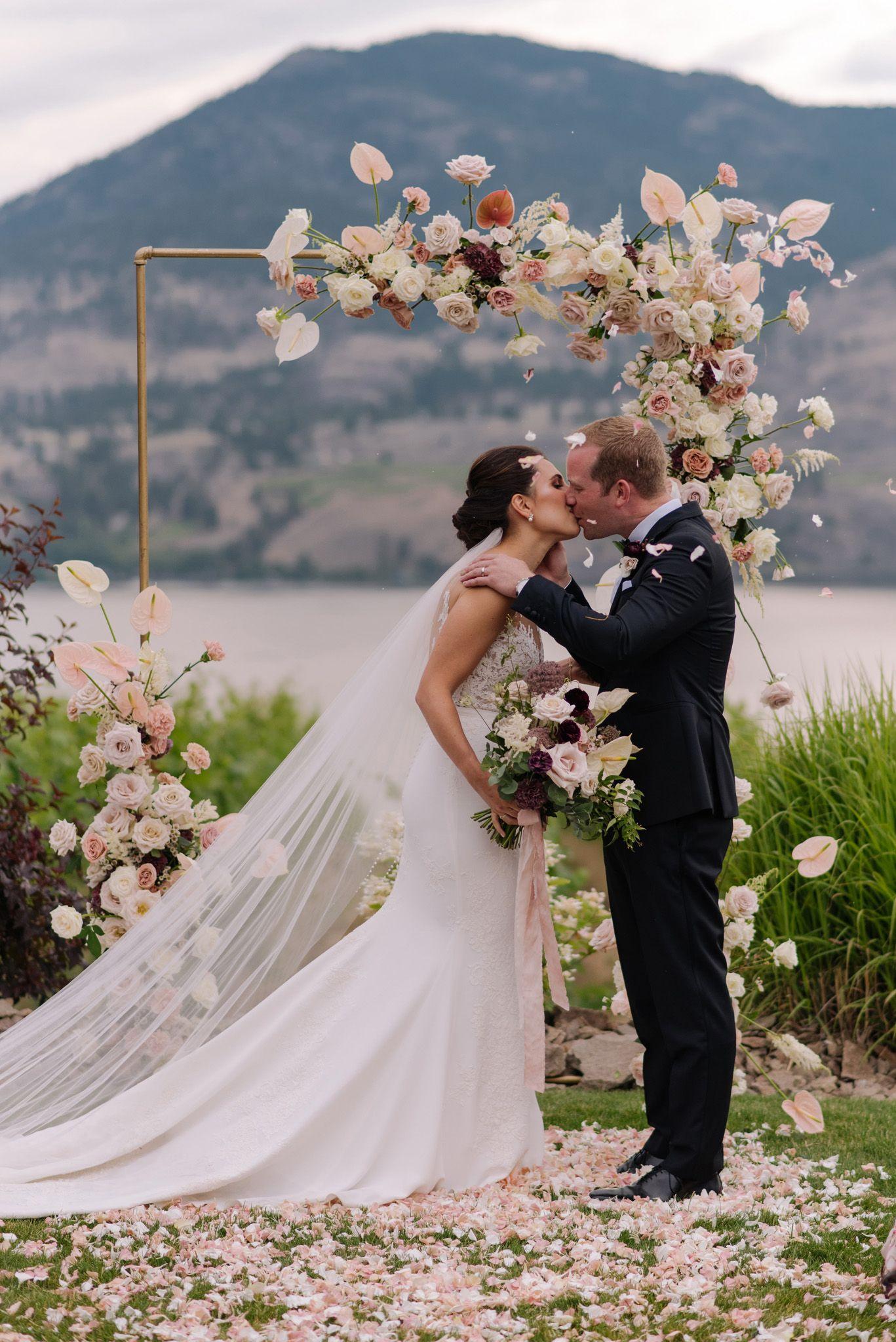 Lakefront Okanagan Wedding at Ponderosa Point Rocky