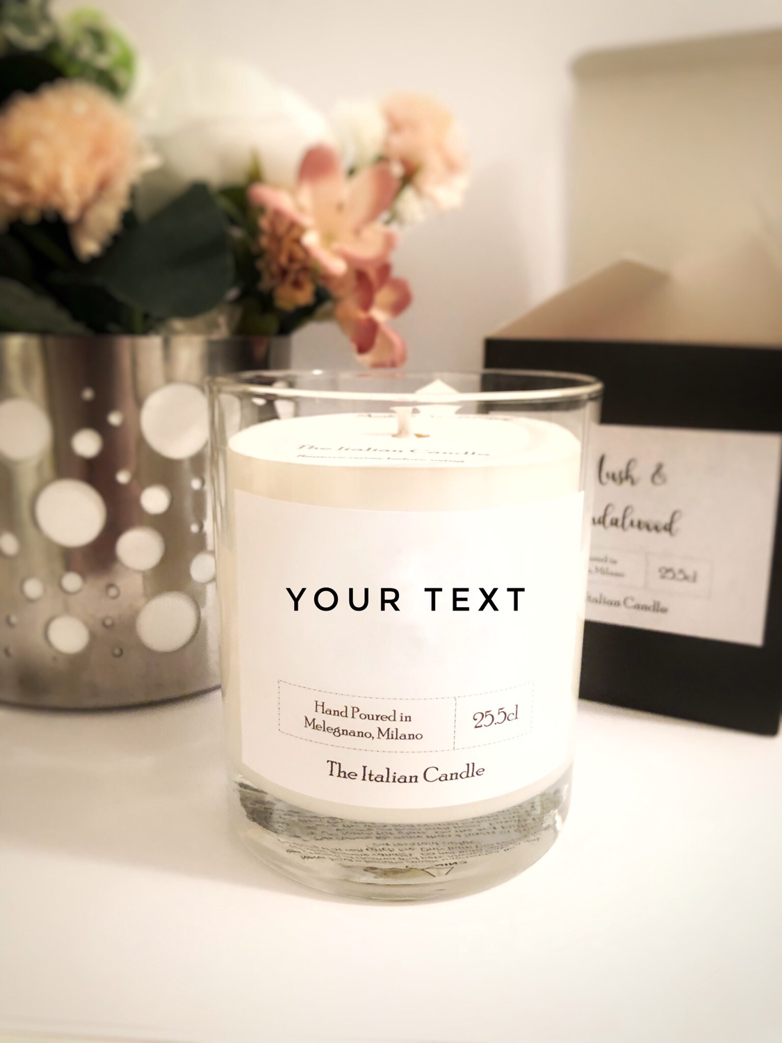 Pin By Genny Ray On Diy Crafts Projects To Try In 2020 Personalized Candles Personalised Wedding Candles Personalized Scented Candles