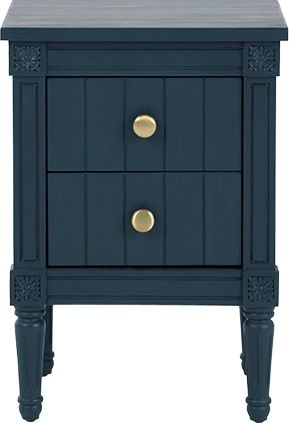 Beau Bourbon Vintage Bedside Table, Dark Blue From Made.com. This Table Adds A  Hint Of Vintage Style. Inspired By French Neoclassical Lines, Yet In A Mor.