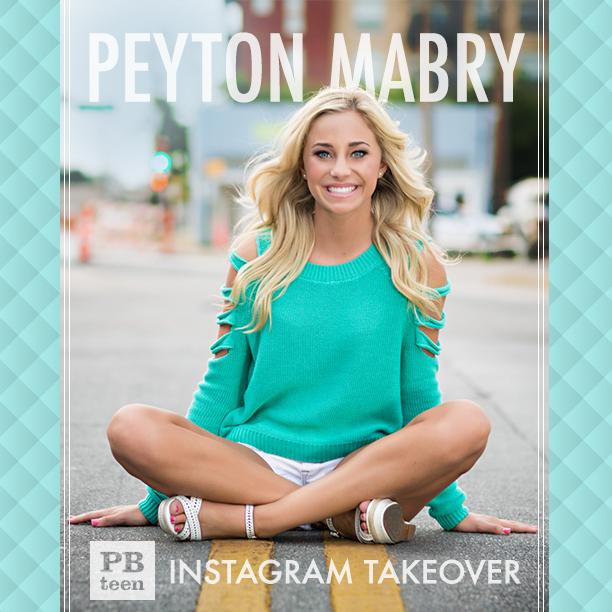 #PBTeen #peytonmabrytakeover  11/26/14 Instagram @pbteen @peyton_mabry  @peytonmabry #peytonmabry