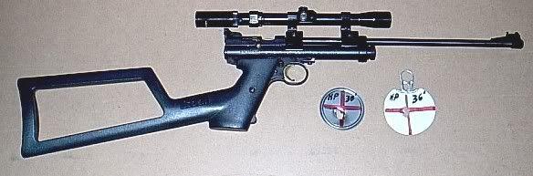 Custom Crosman 2240 with a 14