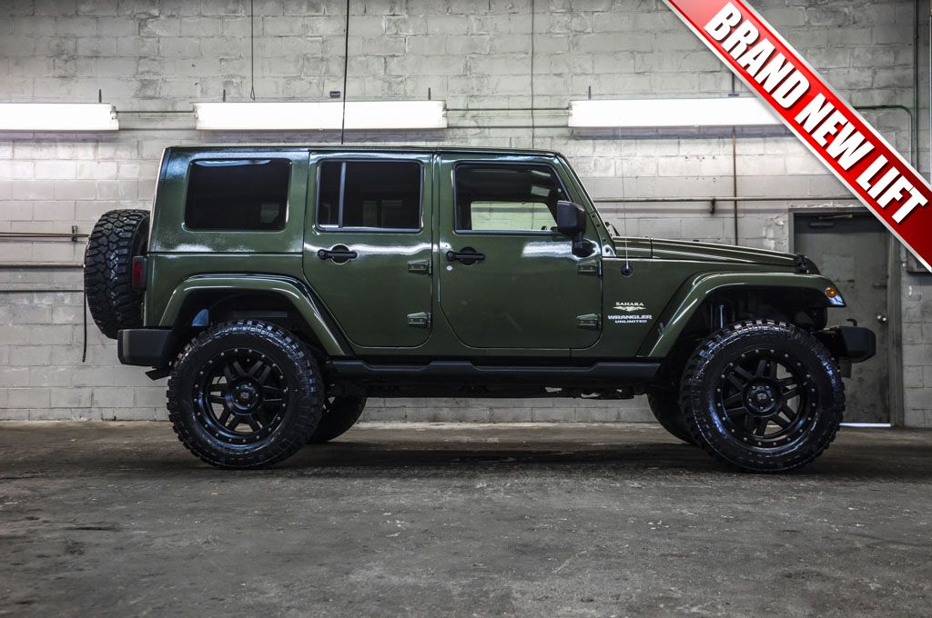 2008 Jeep Wrangler Unlimited Sahara 4x4 For Sale At Northwest