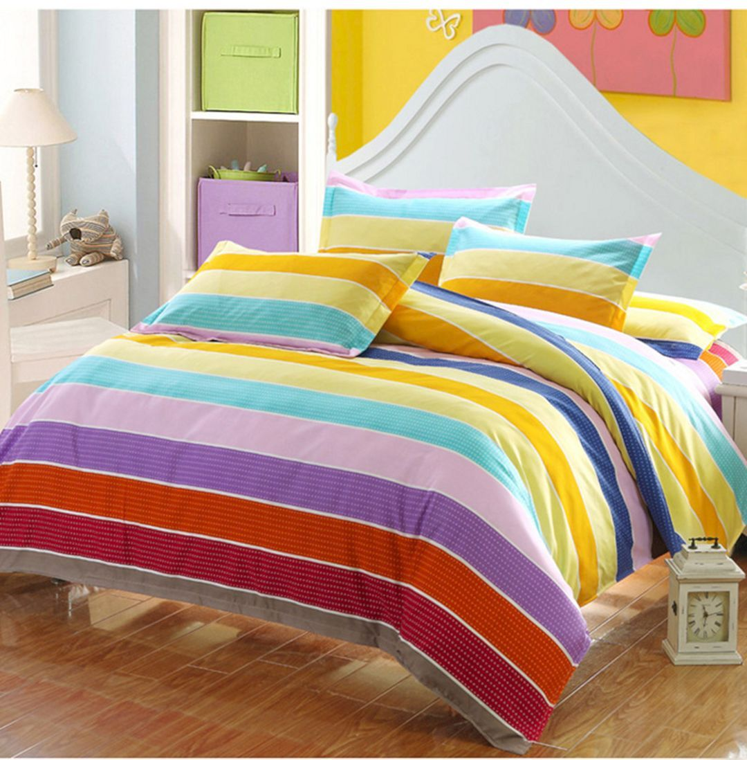 Lovely 5 Colorful Bedding Sets Ideas For Cozy Sleep Inspiration Colorful Bedding Sets Colorful Bedding Bedding Sets