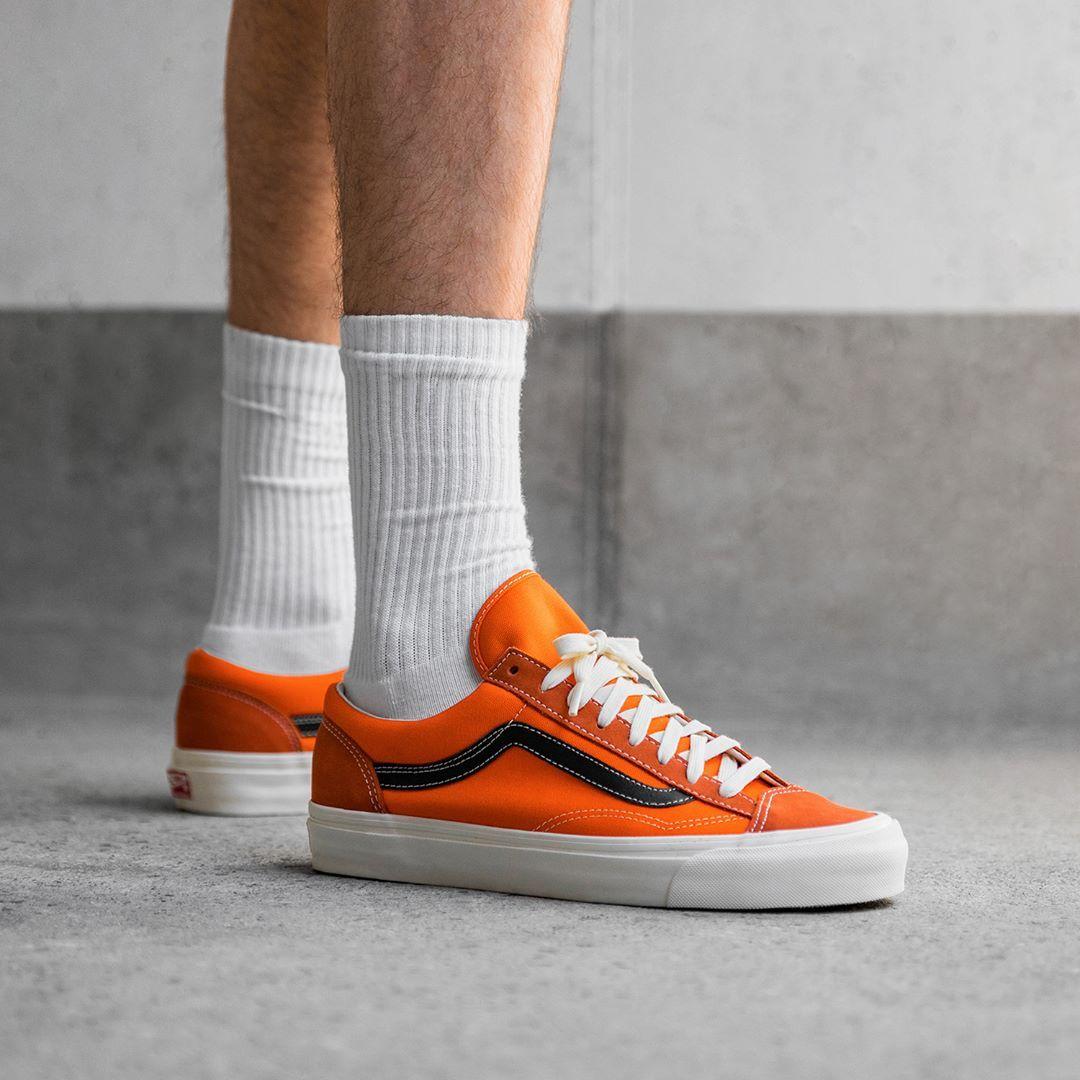 Vans OG Style 36 LX in orange VA4BVEVZH | Vans sneakers