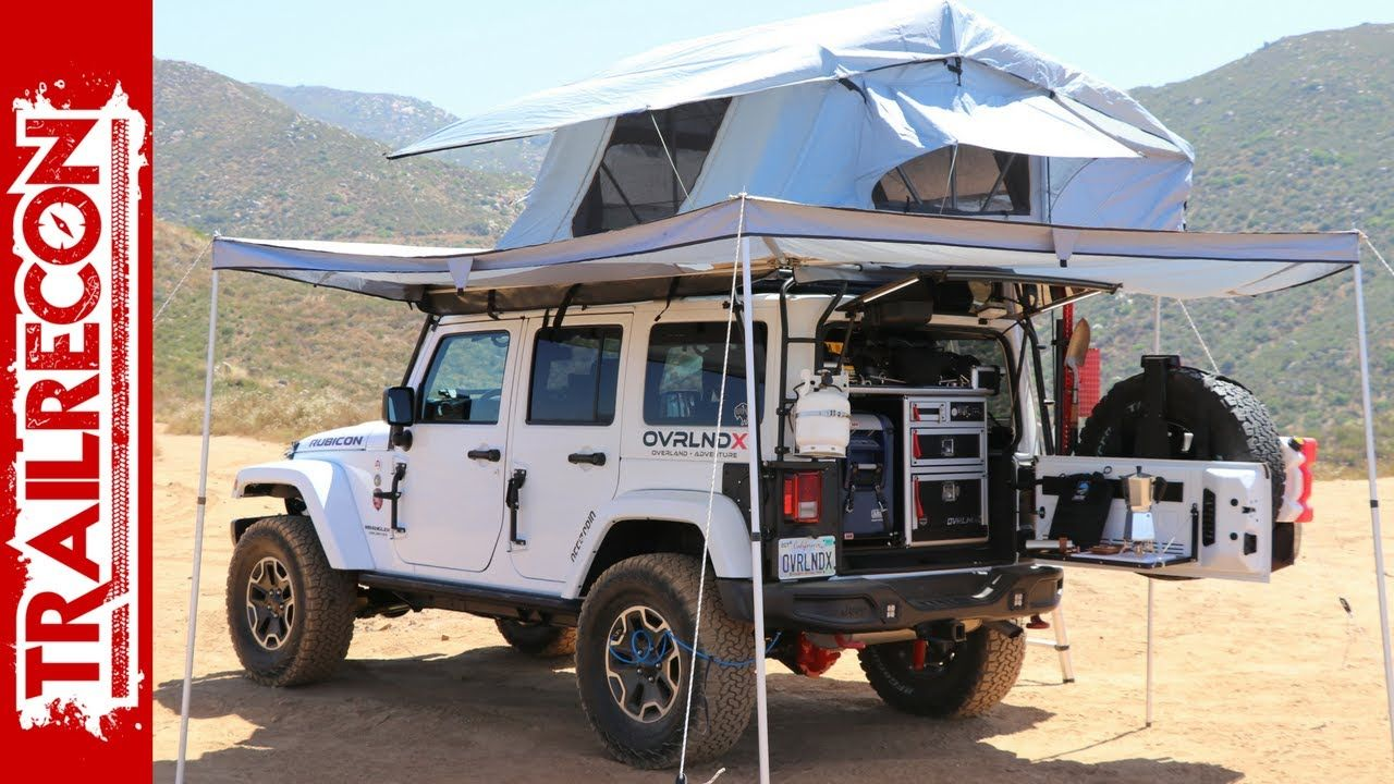 Overland Jeep Wrangler Walk Around Jeep Wrangler Camping Jeep