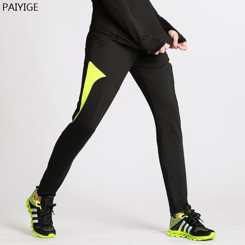Winter Sportlegging.Paiyige Brand Running Pants Men Fitness Sport Legging Jogging