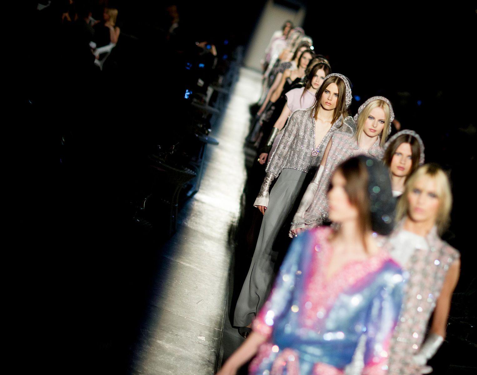 Chanel   Haute Couture @Paris Fashion Week.