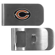 Chicago Bears Money Clip Bottle Opener - free shipping in the USA.