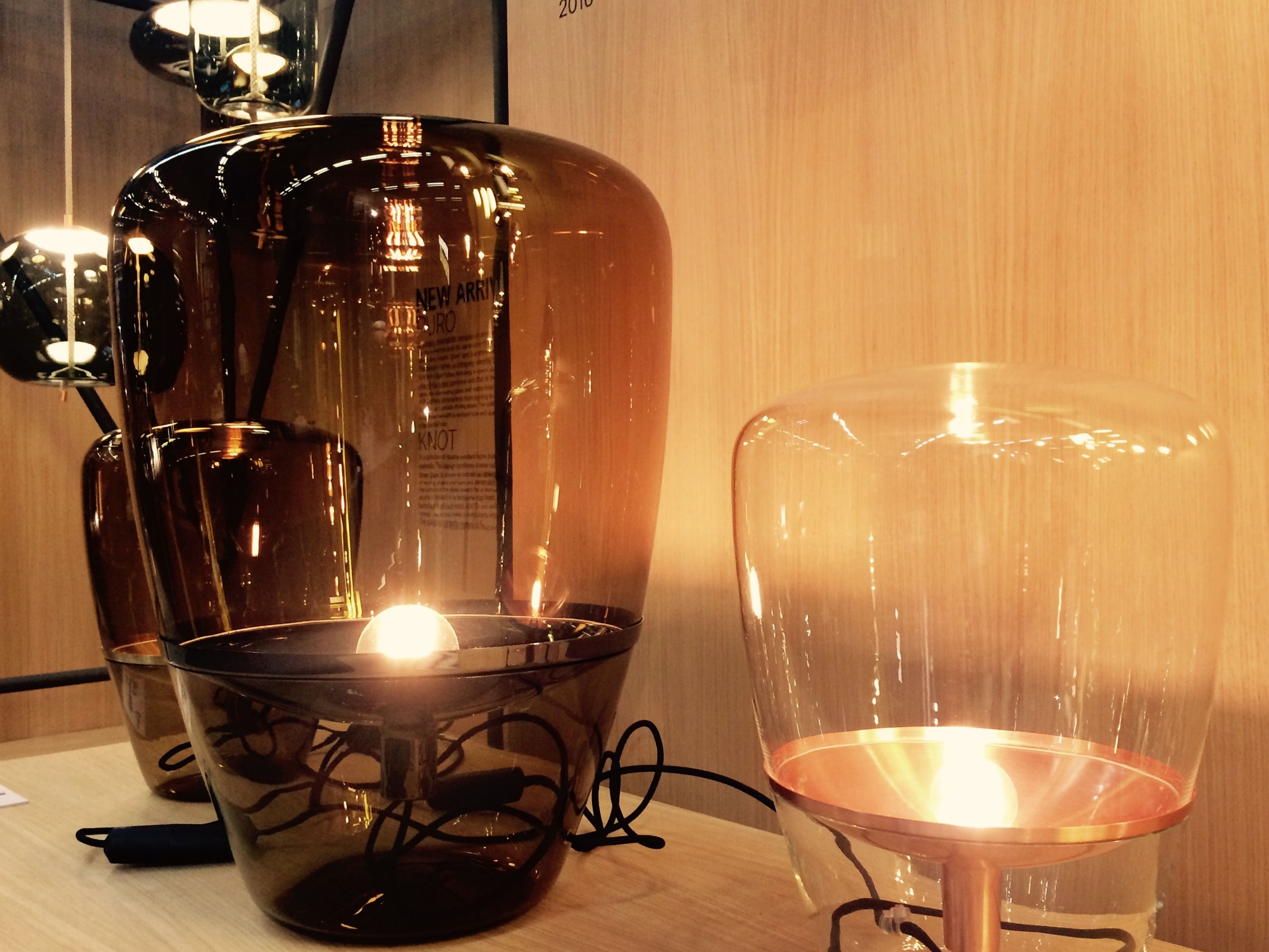 Dan Yeffet & Lucie Koldova stockholm furniture fair - brokis - lights - interior