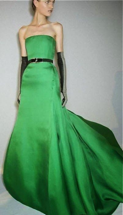 Modello abito da sera Dior Haute Couture