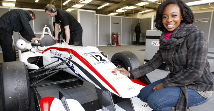 "YolanDa Brown spent a couple of days at Silverstone and then Oulton Park with Team ""T Sport"" filming a Music Video to her single ""TokYo Sunset"".   There will be a preview of the video played in the morning on BBC Breakfast on Thursday 19th April on BBC 1.  YolanDa says, ""If I wasn't a musician I would be a racing driver. It was fantastic to shoot a music video with a racing theme. Hopefully my two passions of music and racing can meet somehow in the near future."