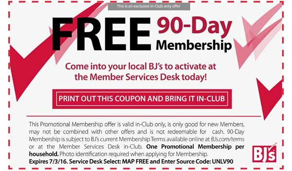 Like BJ's Wholesale Club coupons? Try these...