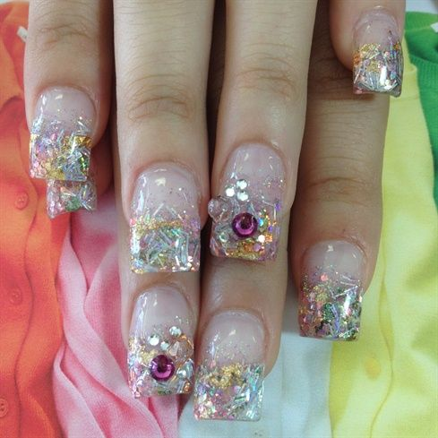 glitter - Nail Art Gallery by NAILS Magazine | Best of ...