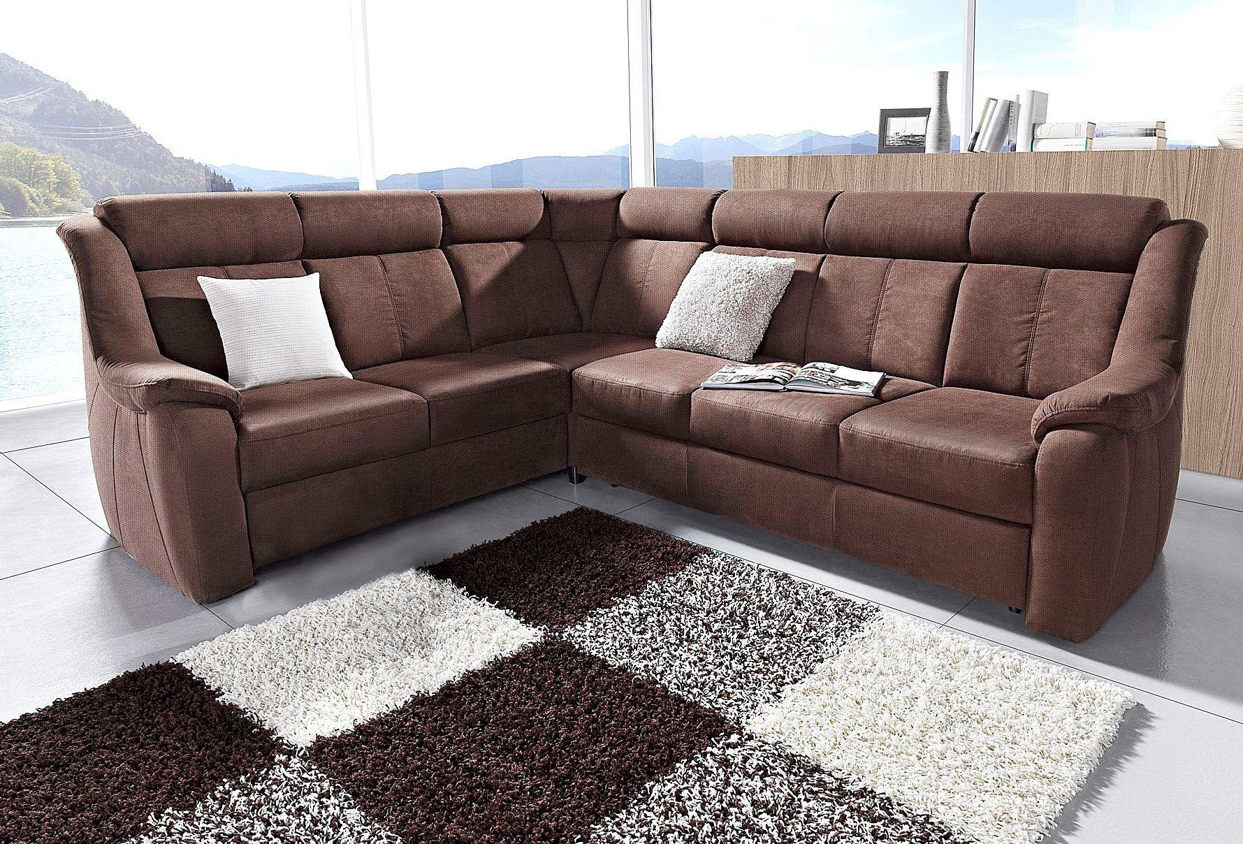 Wunderbar Sofa Mit Relaxfunktion Beste Wahl Polstergarnitur Braun, Relaxfunktion, Langer Schenkel Rechts, Fsc®-zertifiziert,