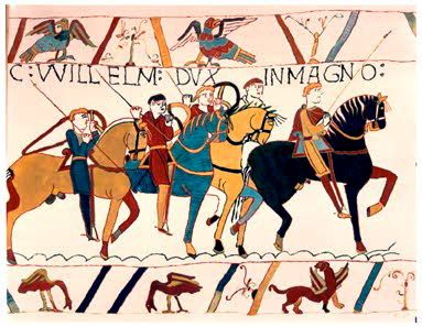 054 William Leads His Army To The Boats Bayeux Tapestry High Middle Ages History Of England