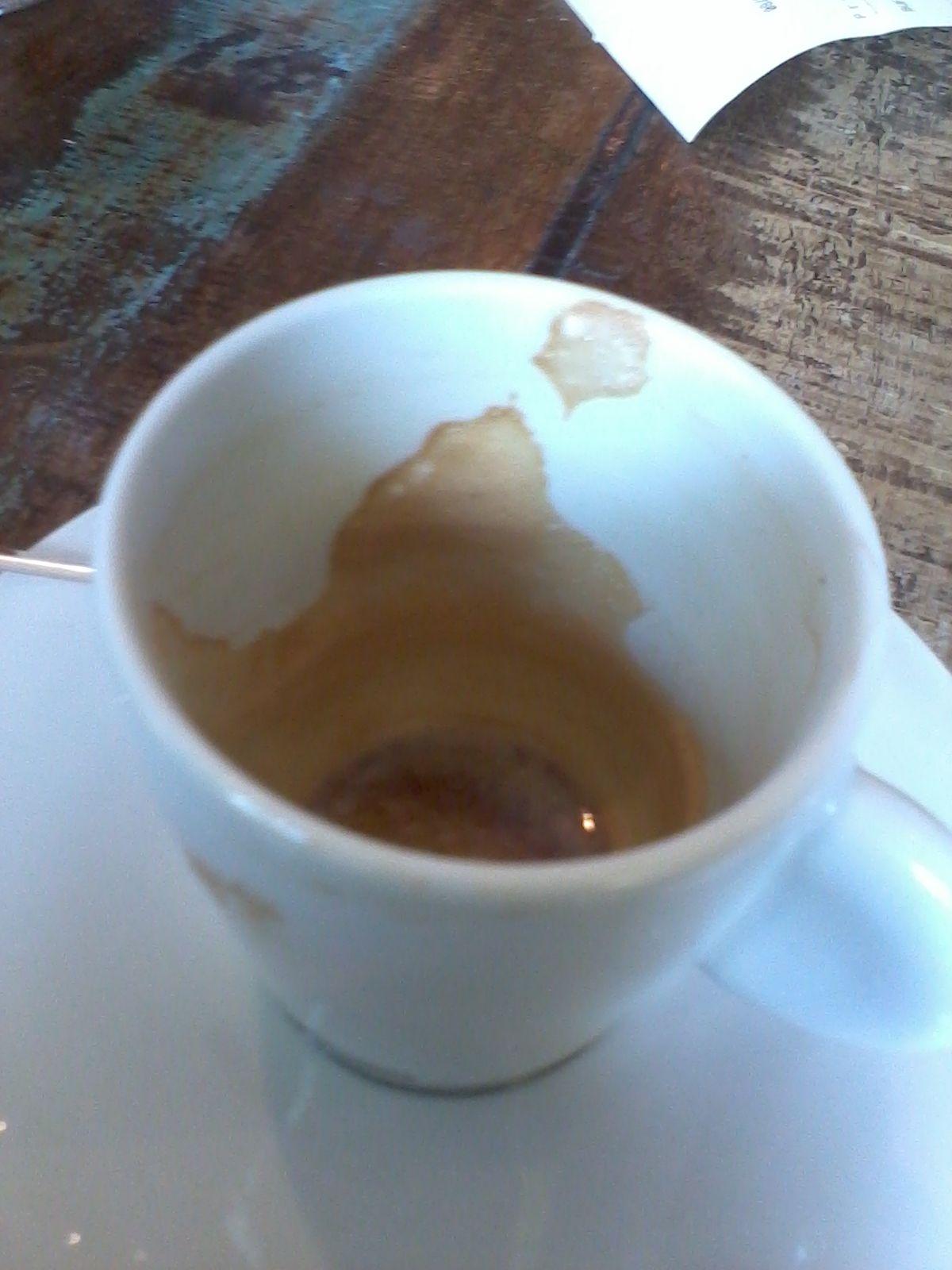 Cristo Redentor no café