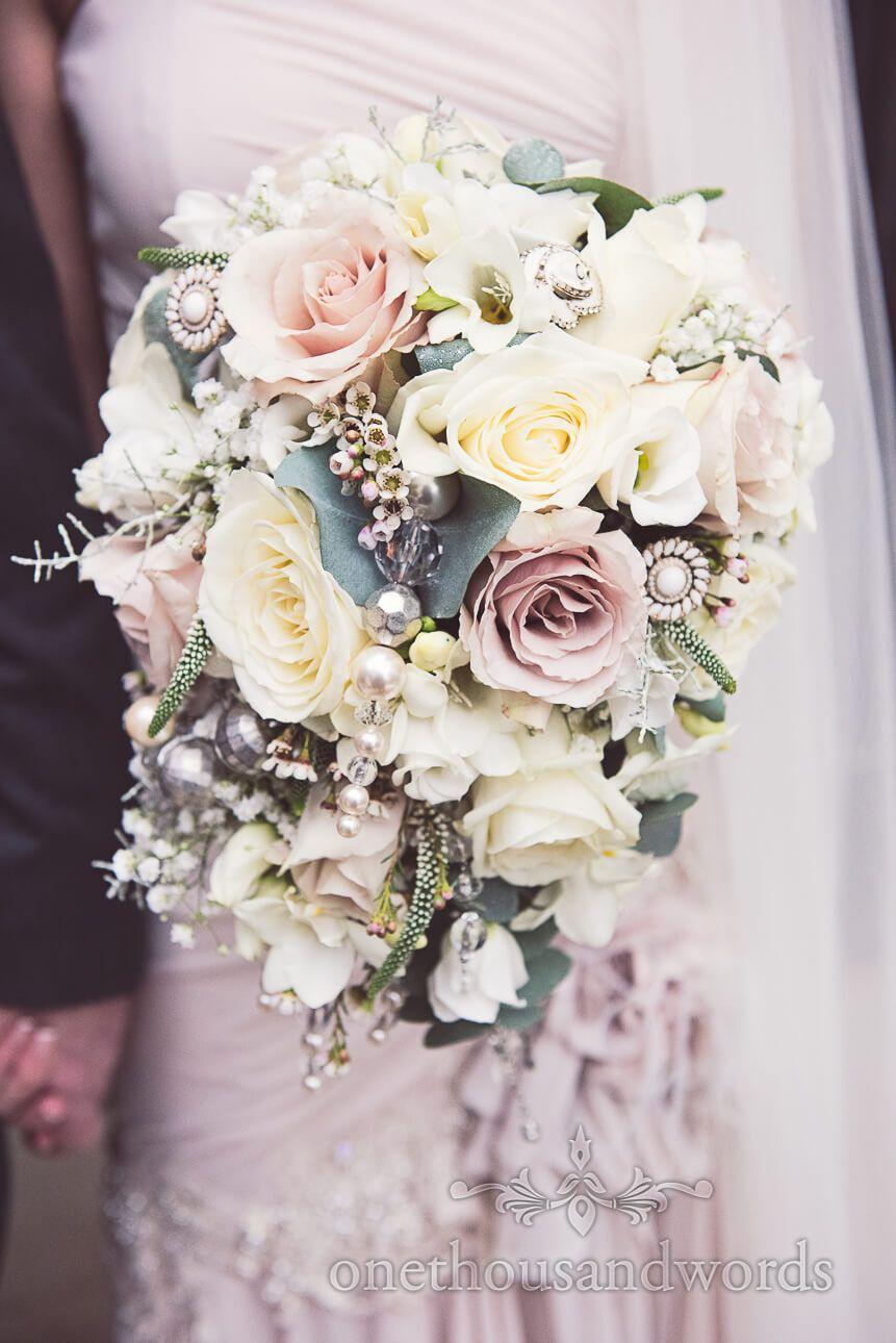 Stunning pastel roses decorated wedding bouquet from tadley floral stunning pastel roses decorated wedding bouquet from tadley floral designs by one thousand words wedding photography onethousandwords izmirmasajfo