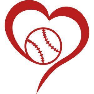 Photo of Silhouette Design Store: Love Baseball
