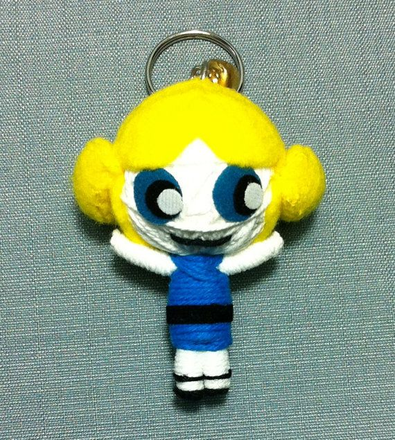 6$ Powerpuff girls  Hey, I found this really awesome Etsy listing at https://www.etsy.com/listing/187807810/bubbles-powerpuff-girl-string-doll