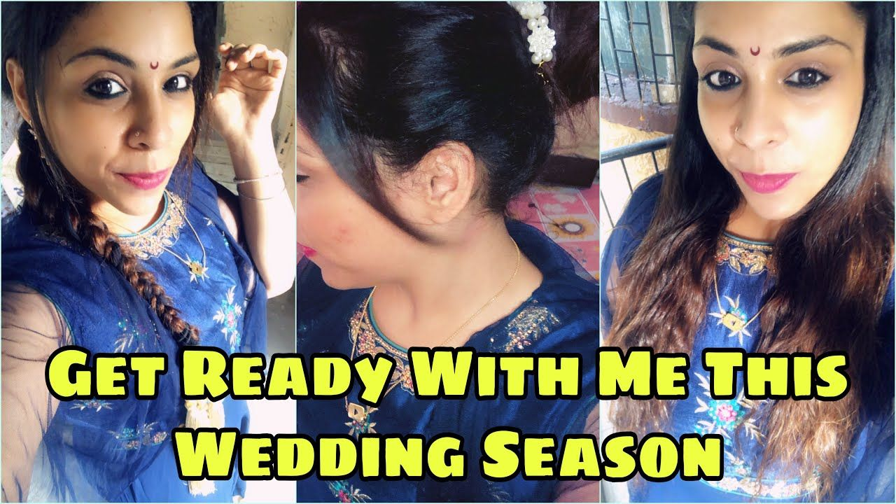 Easy Wedding Hairstyle For Long Hair || Fitness And Lifestyle Channel ##femailyoutuber #bridal #brid...