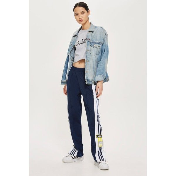 2f61fd536 TopShop Adidas Adibreak Track Pants ($115) ❤ liked on Polyvore featuring  activewear, activewear pants, track pants, adidas sportswear, adidas and  adidas ...