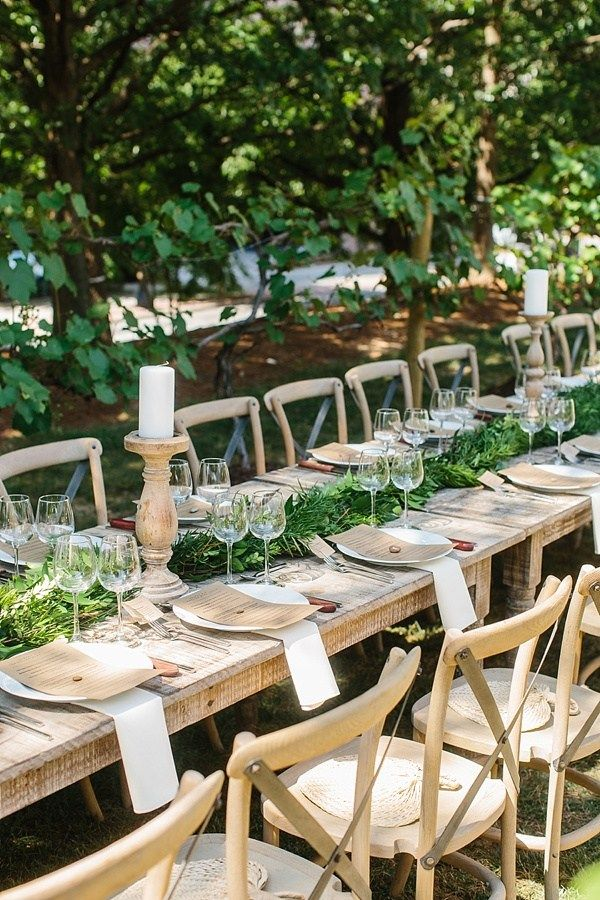 Vineyard inspired dinner party, Waiting on Martha