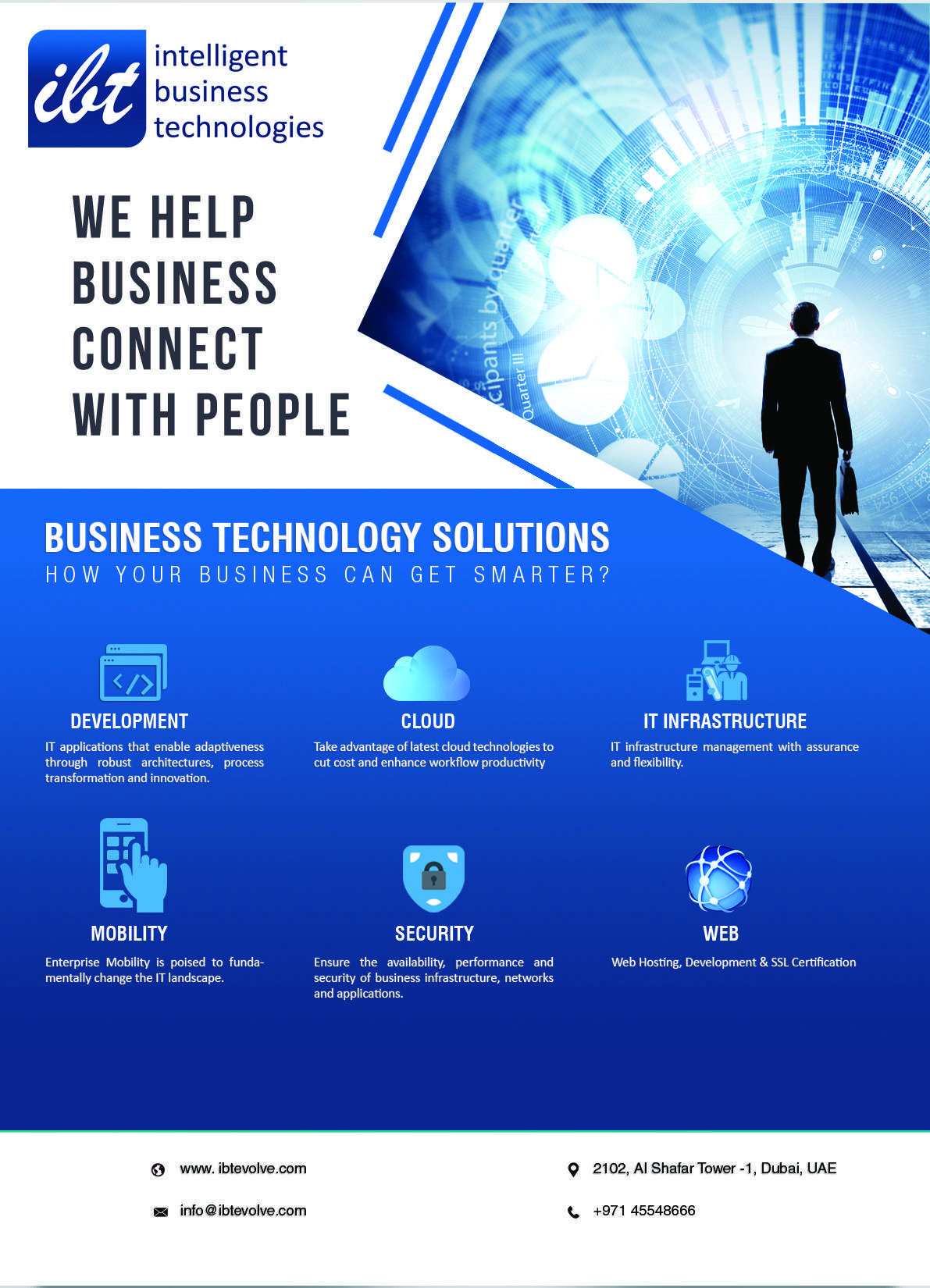 Ibt Combines Essential It Support Services With In Depth Understanding Of Our Clients Requirements Short A Technology Solutions Business Technology Technology