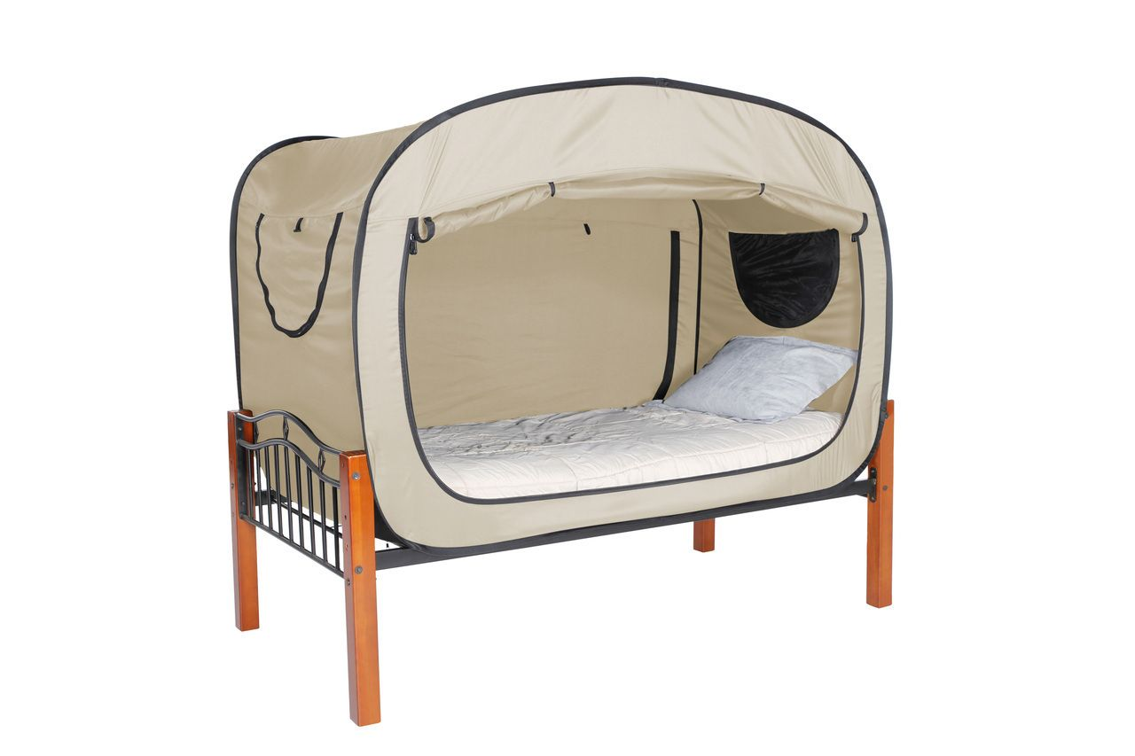 Privacy pop pop up bed tent for dorms and any place privacy or close  sc 1 st  Pinterest & The Bed Tent | Tents