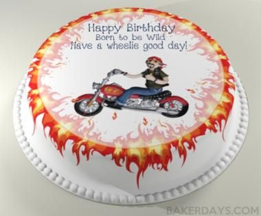 Motorbike Cake The Perfect Birthday Cake For All Bikers Cake