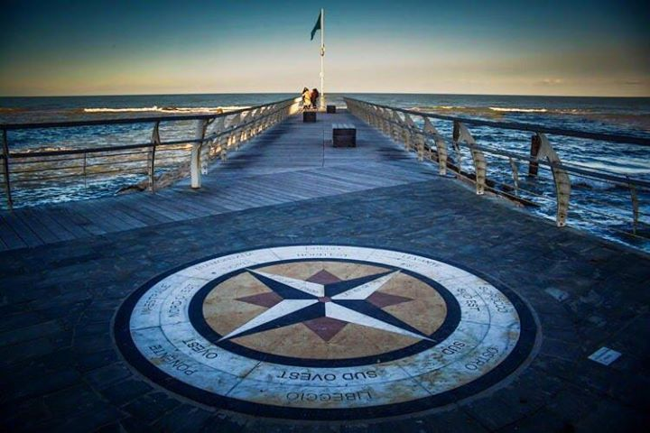 Goodbye 2015 happy new year! #photooftheday #landscape #sea #molo #moletto #pesaro #italia #marche #pier #rosadeiventi #compass #compassrose #canon #canon5d #beautiful #beautifulplace #city #nature #natureandpeople #sunset #flag #travel #water http://ift.tt/1kvHxJJ - http://ift.tt/1HQJd81