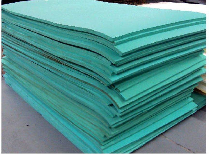 Styrofoam Forms 41200: Green Ensolite Firm Flotation Foam 38 X 72 X ...